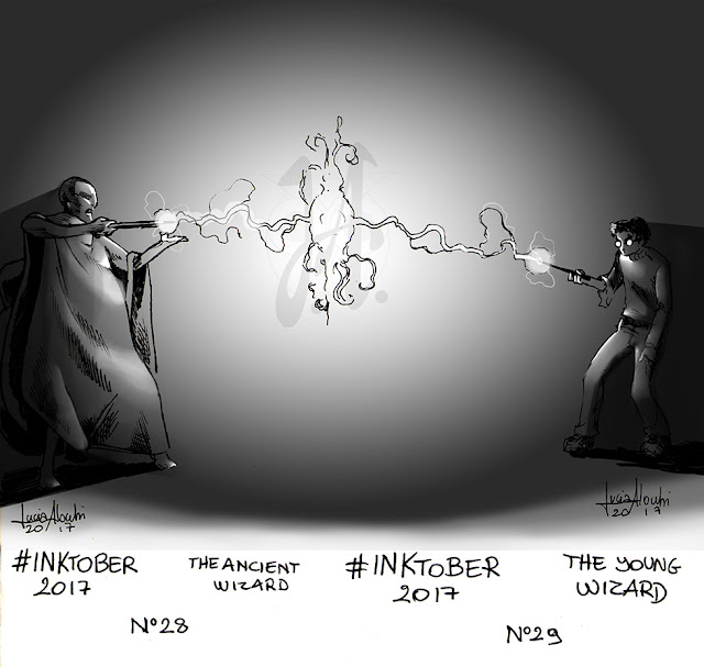 wizard-inktober-photoshop-luciaalocchi