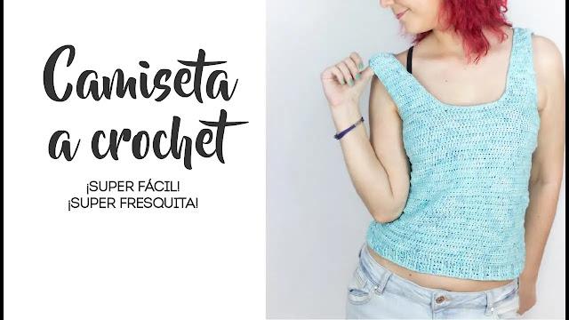 Como Tejer Camiseta Sencilla a Crochet