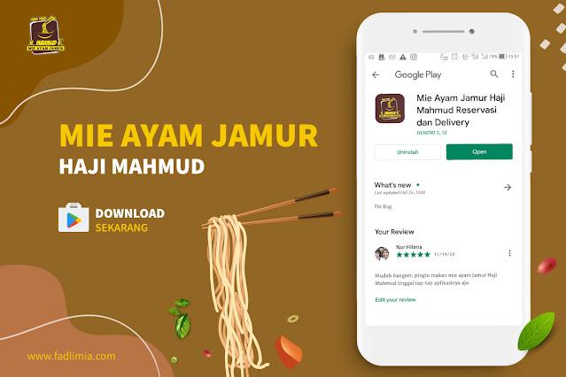 Aplikasi Mie Ayam Jamur Haji Mahmud