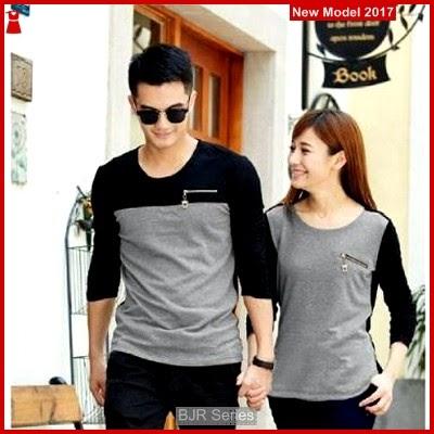 BJR165 H Baju Pasangan Zipper Murah Grosir BMG