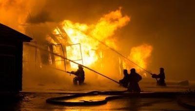 Teori Api, Tahapan Kebakaran dan Cara Pemadaman