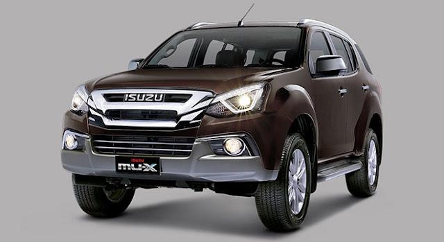 New 2018 Isuzu MU-X Premium SUV