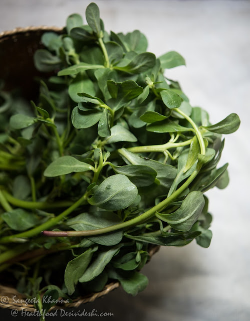 purslane or kulfa ka saag | greens of the season | 6 purslane recipes for eating healthy everyday