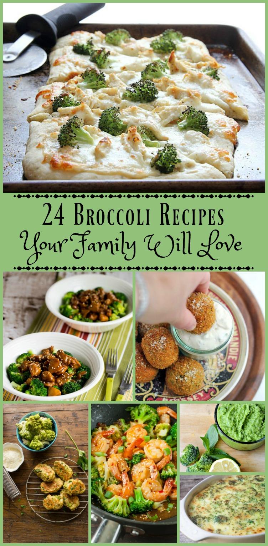 24 Broccoli Recipes Your Family Will Love from www.bobbiskozykitchen.com