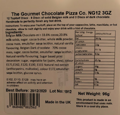 Topitoff Discs The Gourmet Chocolate Pizza Co