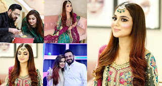 Couple Syeda Tuba Amir and Amir Liaquat Beautiful Pictures from Ramazan Show