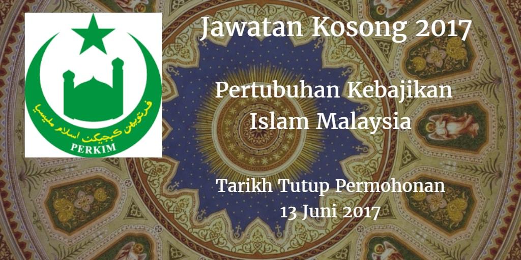 Jawatan Kosong PERKIM 13 Juni 2017