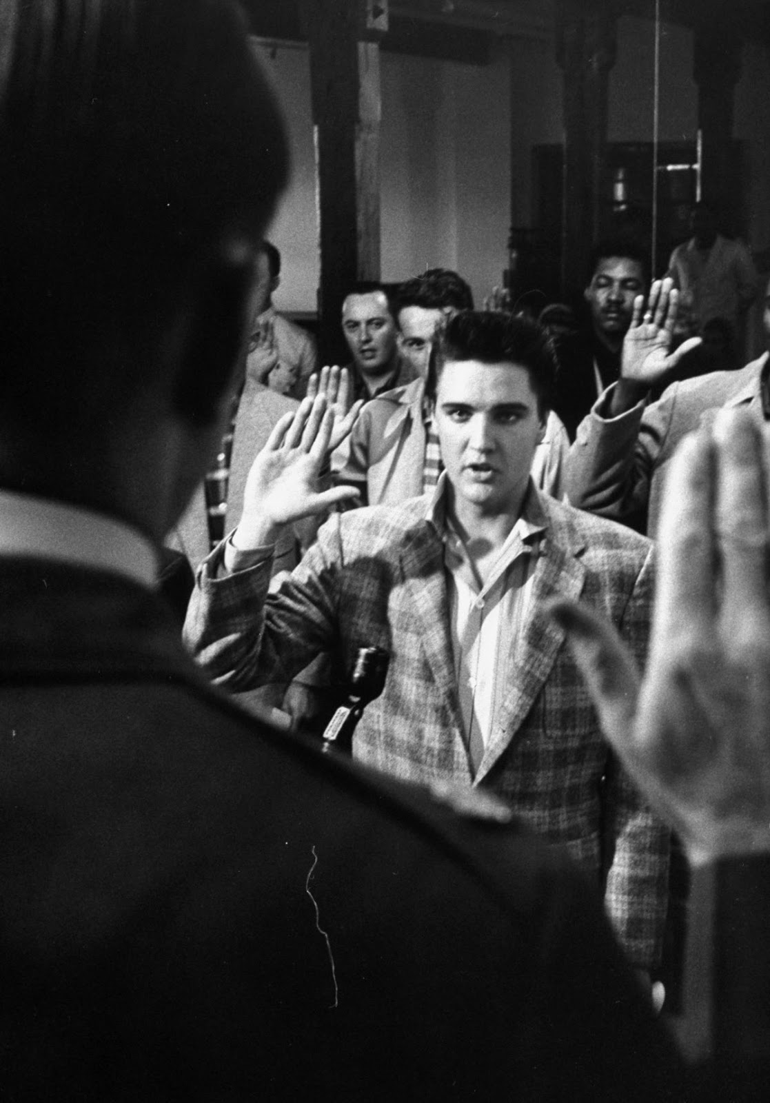 Elvis Presley Graceland + Army Induction at the Draft