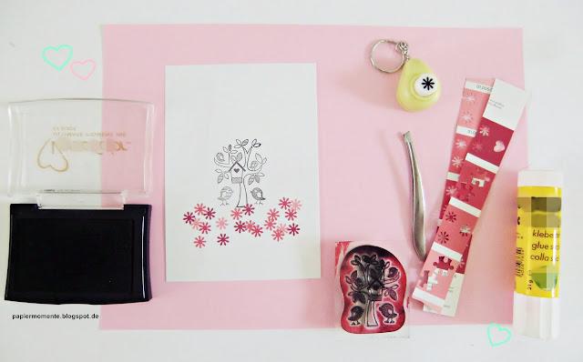 wiola 39 s papiermomente herzlichen gl ckwunsch karte selbst gestalten. Black Bedroom Furniture Sets. Home Design Ideas