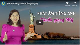 Miễn phí khóa học Phát âm tiếng Anh chuẩn giọng Mỹ