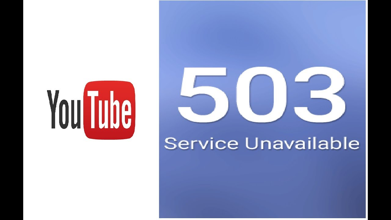How to Fix YouTube Network Error 503