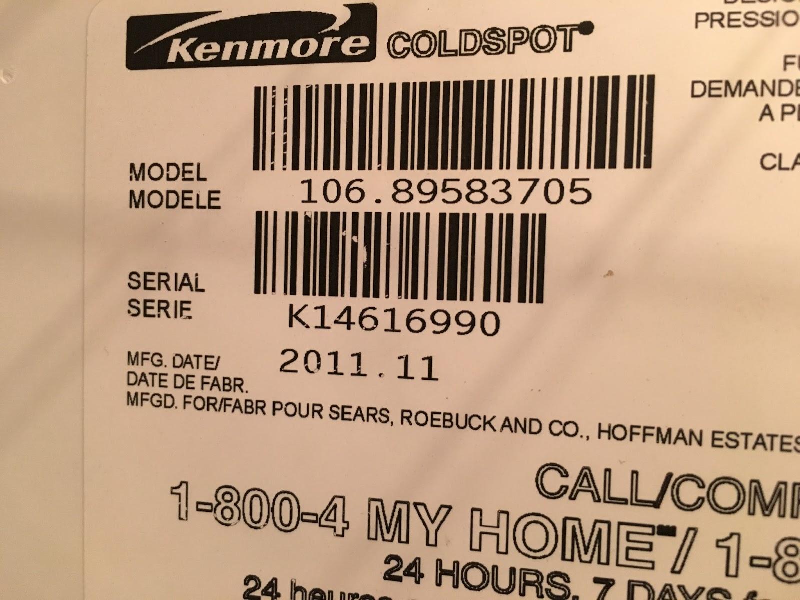 100+ Kenmore Model 106 Refrigerator Manual – yasminroohi