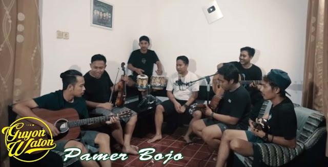 Lirik dan Cord Gitar Pamer Bojo - GuyonWaton Cover