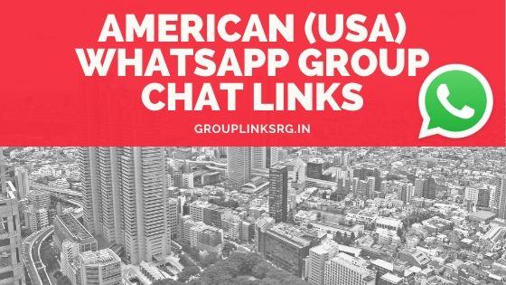 Whatsapp Group Links America (USA) 2020 - Join Now