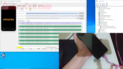 Tutorial Flash Vivo Y12 (PD1901EF) Update Work