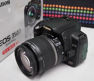 Jual DSLR Canon EOS 350D Bekas