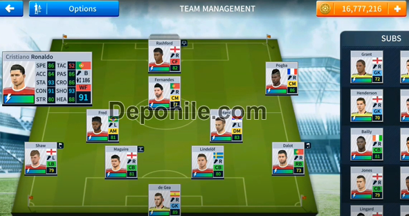 DLS Manchester United 2021/2022 Yaması Cristiano Ronaldo