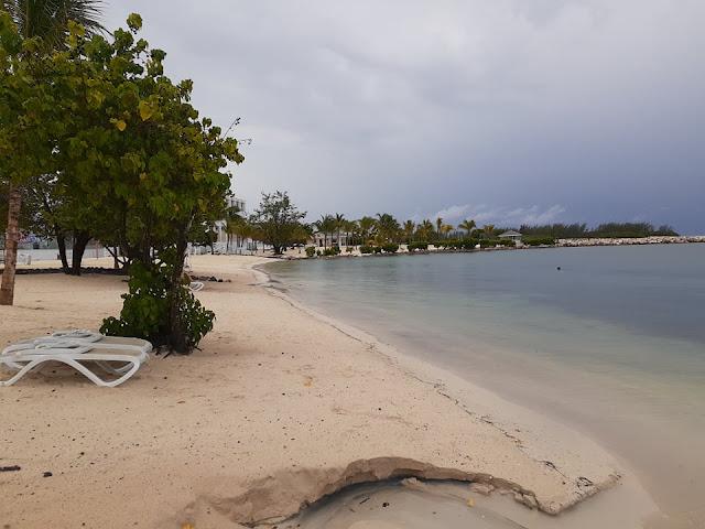 Beautiful Beach right outside of Riu Montego Bay
