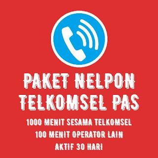 PAKET NELPON TELKOMSEL 1000 MENIT 30 HARI