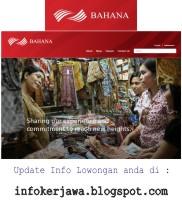 Lowongan Kerja BUMN PT Bahana Pembinaan Usaha Indonesia