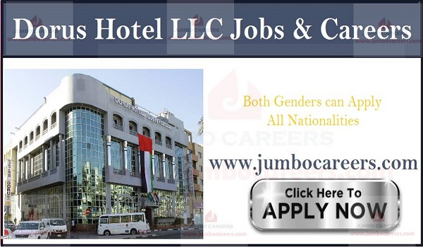 Available hotel jobs in UAE, Recent Restaurant jobs with salary in Gulf countries,
