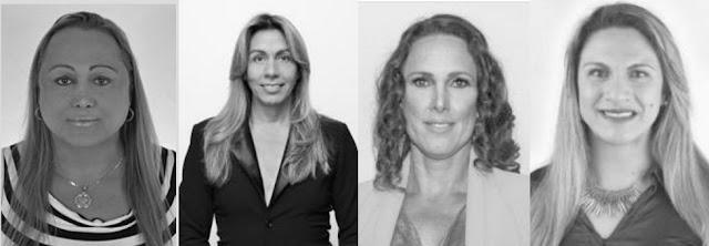 Pamela Volp, Isaías Martins, Brenda Santonioni e Najara Gomes: eleitas