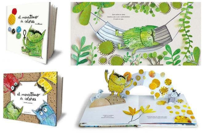 Libro infantil para la educación emocional: el monstruo de colores
