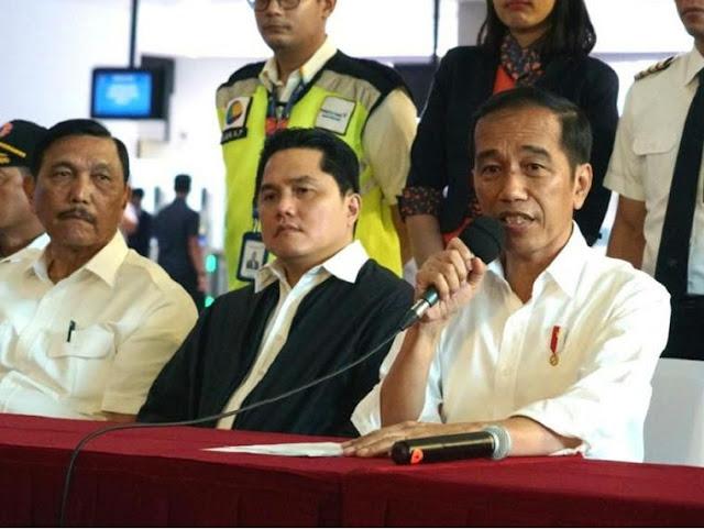 ICW Sebut di Balik Pembangkit Listrik Ada Elite Kaya, Luhut Pandjaitan hingga Erick Thohir