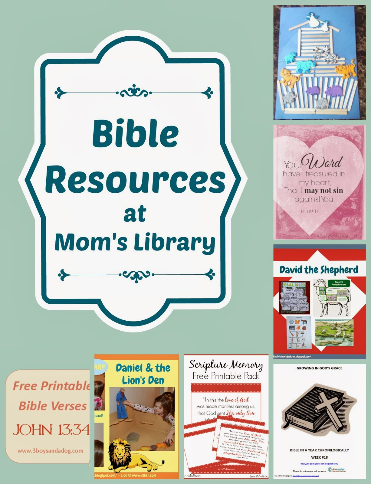 Mom's Library - Bible Resources