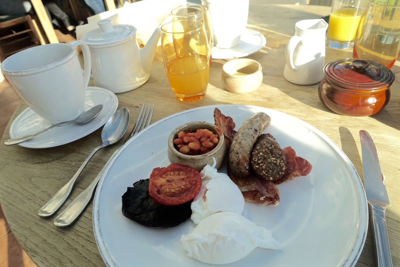 new forest breakfast at burley manor
