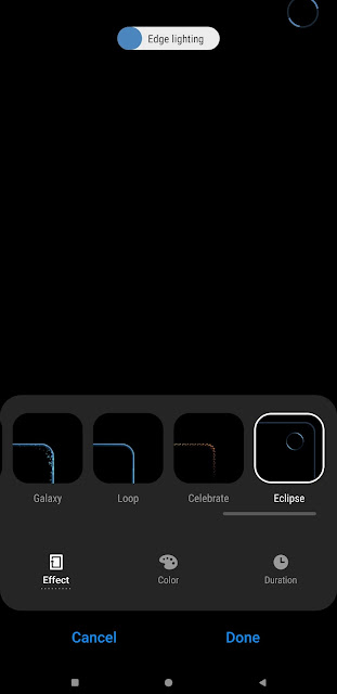 Download Aplikasi Good Lock Baru - NotiStar, Nice Shot, dan EdgeLighting + untuk Animasi kamera Galaxy S10 3
