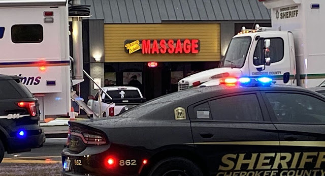 Robert Aaron Long was accused of shooting eight people and injuring another in three spa shootings in Atlanta.