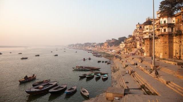 River Ganges in India