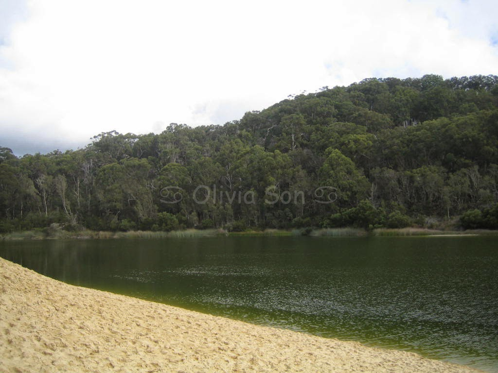 Lake Wabby, Fraser Island, Queensland, Australie