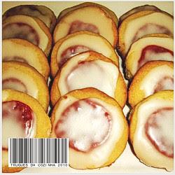 Amanteigados com Goiabada Receita Biscoitos Simples