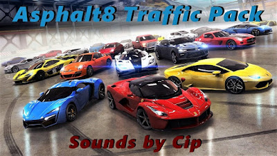 Asphalt8 Traffic Pack 1.35 edit by Cip