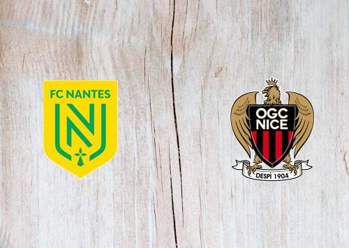 Nantes vs Nice -Highlights 04 April 2021