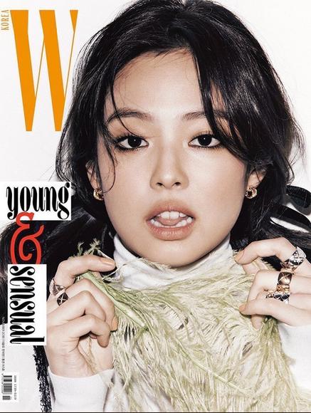 BLACKPINK JENNIE for W Korea November 2018 Issue