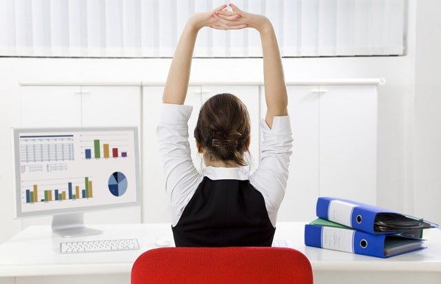 how to stay healthy working sedentary job desk jobs