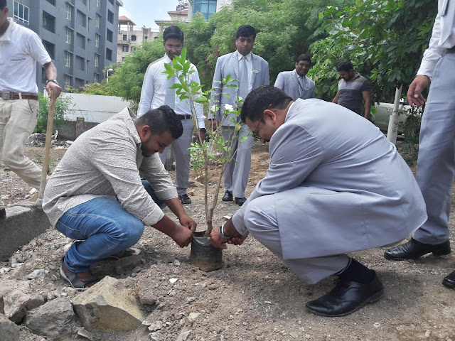On World Environment Day, Columbia Asia Hospital, Pune conducts tree plantation to revive greenery in the periphery of the hospital