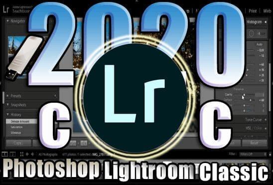تحميل برنامج Adobe Lightroom Classic 2020 Portable اخر اصدار نسخة محمولة مفعلة