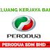 Jawatan Kosong Terkini Perodua Sdn Bhd