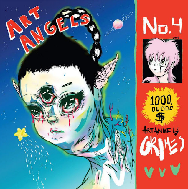 Recommended music: Art Angels by Grimes