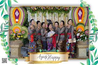 THE WEDDING OF AGUS&HAPPY 11102019 @PEDUNGAN,BALI