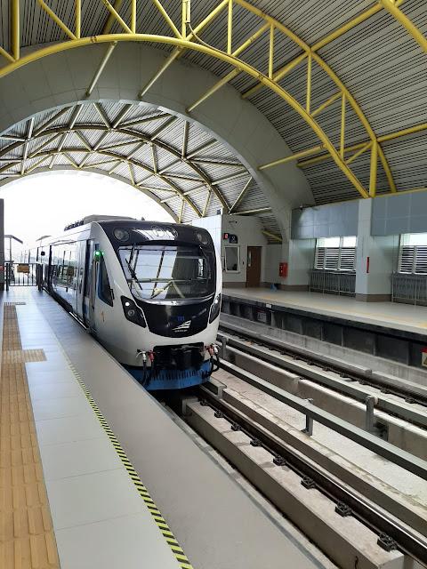 Cara Naik LRT Palembang