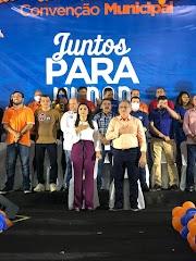 Convenção do 77 com Vanessa Maia lota o Global Club de Pedreiras