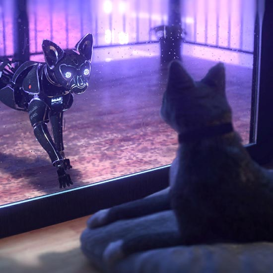 Cyberpunk Cat Wallpaper Engine