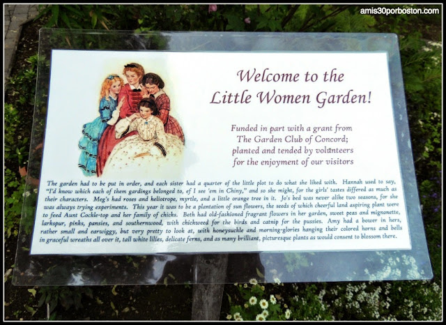 Jardín de Orchard House