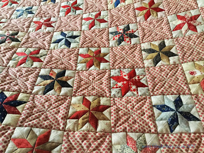 'Star A Day' by Karen Styles of Somerset Patchwork Made by Pippa, quilted by Frances Meredith
