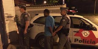 Polícia Militar de Cajati registra flagrante de roubo